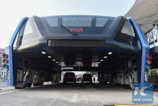 중국 미래형 '터널 버스' 향한 몇 가지 우려
